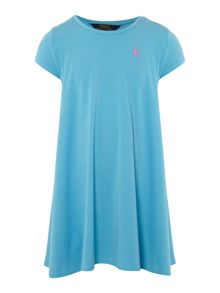 Polo Ralph Lauren Girls Short Sleeve T-shirt Swing Dress