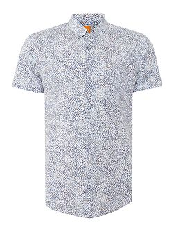 Erollese classic fit abstract print shirt