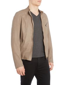 Hugo Boss Juliano 2 perforated suede harrington jacket
