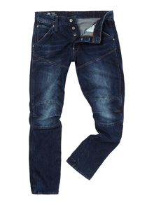 G-Star 5620 3D wisk tapered dark aged jeans
