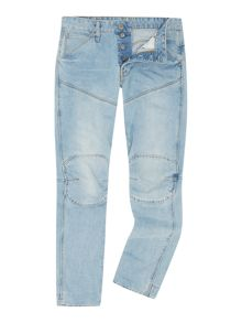 G-Star 5620 3D wisk tapered light aged jeans