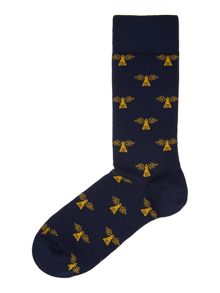 Barbour Beacon Print Single Sock