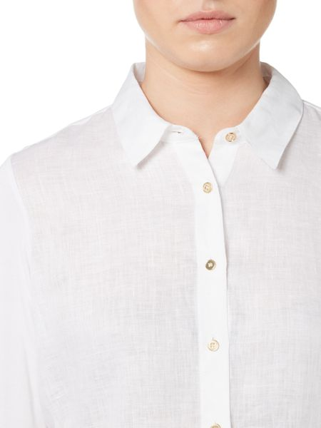 Episode Classic shirt with high-low hem detail