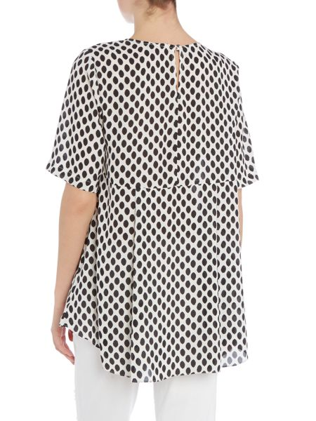 Vince Camuto Stripe woven top