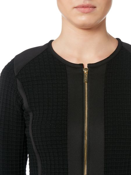 Episode Zip up jacket with waffle texture front