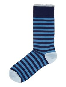 Two Colour Bold Stripe Sock