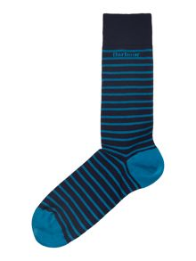 Alwin Logo Stripe Sock