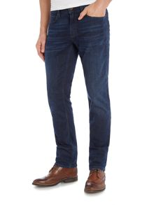 Orange 63 slim fit dark wash jean