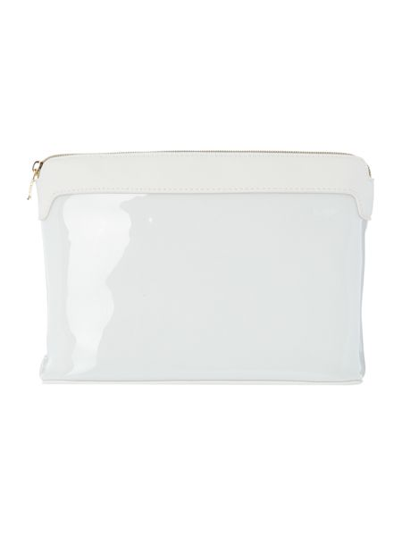 Ted Baker Jesamy white large cosmetic bag