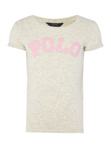 Girls Polo Applique T-shirt