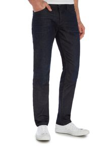 Hugo Boss Orange 90 tapered fit dark indigo jean