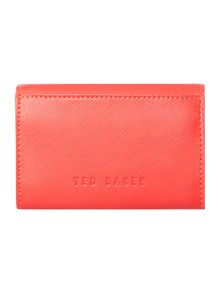 Ted Baker Carley orange small flapover purse