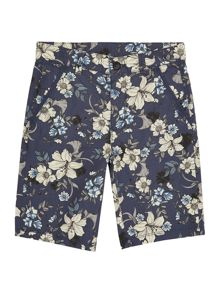 Benetton Boys Floral print short
