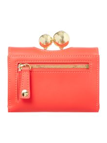 Ted Baker Lillae orange small flapover purse