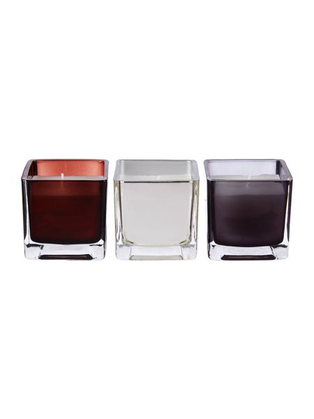 Luxury Hotel Collection Set of 3 Votives