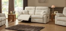 Linea LineaJasper 3 Seater Manual Recliner Sofa