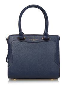 Paul's Boutique Trinty hunter navy medium tote bag