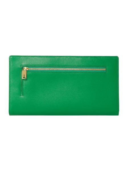 Ted Baker Cyprian green travel wallet