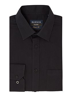 Bermont Single Cuff Cutaway Collar Poplin Shirt