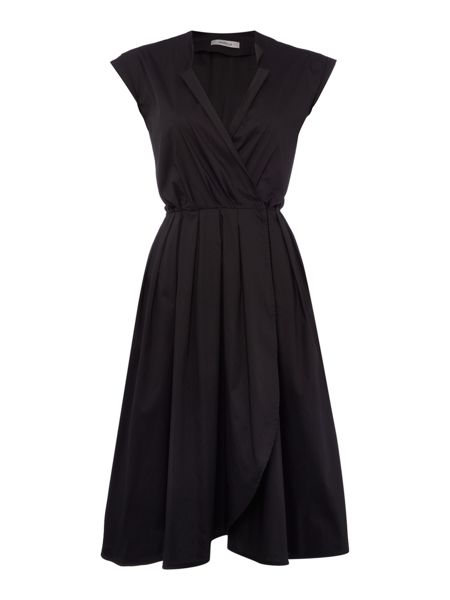 Marella Madia cap sleeve wrap dress