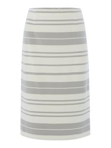 Episode Stripe pencil skirt