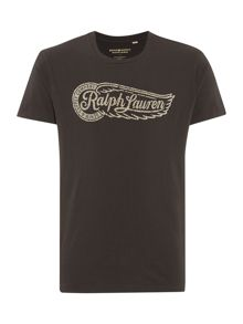 Denim and Supply Ralph Lauren Regular fit crew neck printed logo t shirt