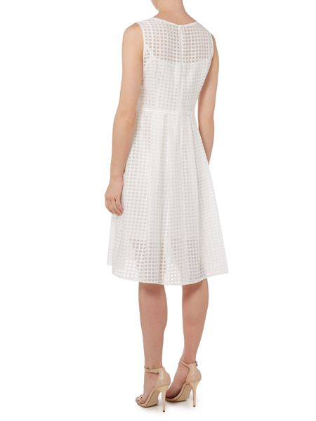 Ellen Tracy Cut out fit and flare dress
