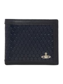 Vivienne Westwood Cronos beehive leather billfold wallet