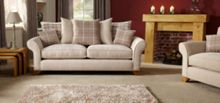 Linea Laine 3 Seater Sofa Scatter Back