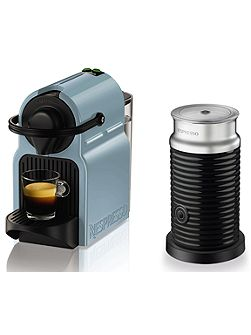 Nespresso Inissia Blue with Aeroccino