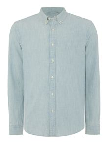 Denim and Supply Ralph Lauren Regular fit buttin down chambray workshirt