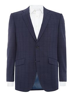 Medium Check Suit Jacket