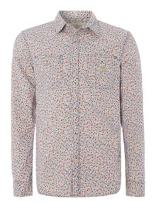 Denim and Supply Ralph Lauren Regular fit printed floral long sleeve shirt