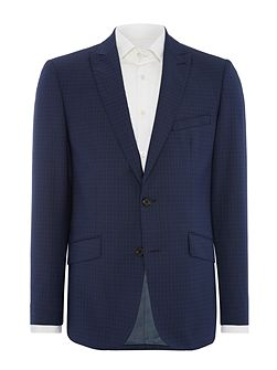 Puppytooth Check Suit Jacket