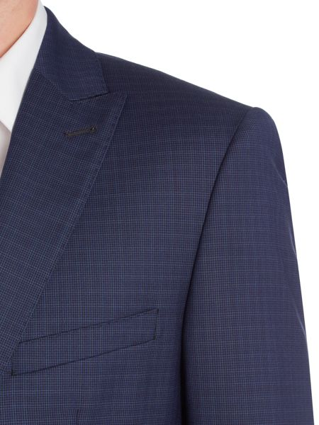 Simon Carter Puppytooth Check Suit Jacket