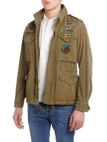 Denim and Supply Ralph Lauren Funnel neck field jacket