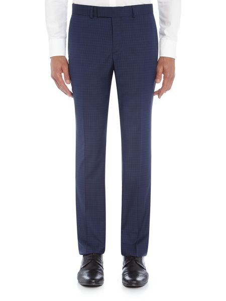 Simon Carter Puppytooth Check Suit Trousers