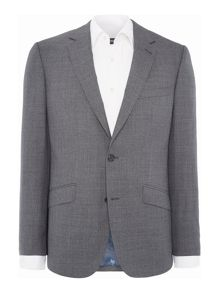 Simon Carter Melange Plain Suit Jacket