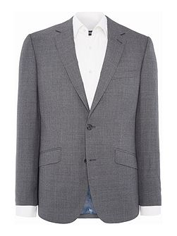 Melange Plain Suit Jacket