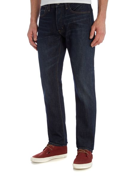 Denim and Supply Ralph Lauren Ekins slim fit dark rinse jeans