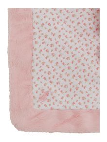 Baby Girls teddy comforter