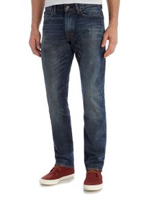 Denim and Supply Ralph Lauren Davis slim fit mid wash jeans