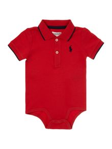 Polo Ralph Lauren Baby Boys Tipped Polo Bodysuit