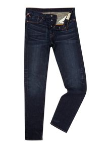 Walker low rise skinny fit dark rinse jeans