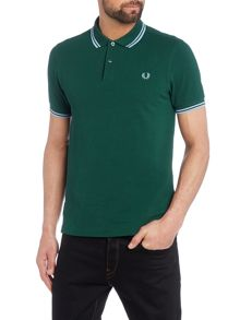 Fred Perry Twin Tipped Slim Fit Polo Shirt