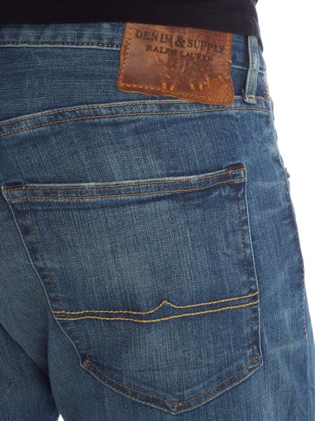 Denim and Supply Ralph Lauren Remys low rise skinny mid rinse jeans