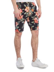 Denim and Supply Ralph Lauren Slim fit floral chino shorts