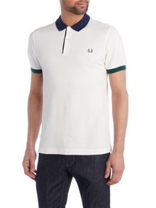 Fred Perry Colour block pique polo shirt