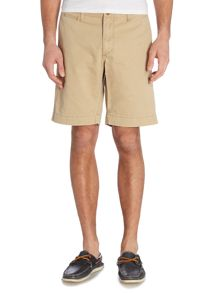 Regular fit twill chino shorts