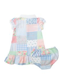 Baby Girls Patchwork Polo Dress
